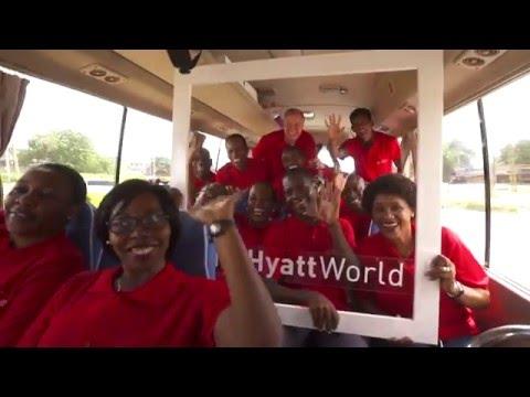 In A Hyatt World, We Care for Our Communities (Dar es Salaam)