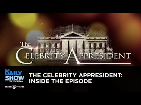 Exclusive – The Celebrity Appresident: Inside the Episode: The Daily Show