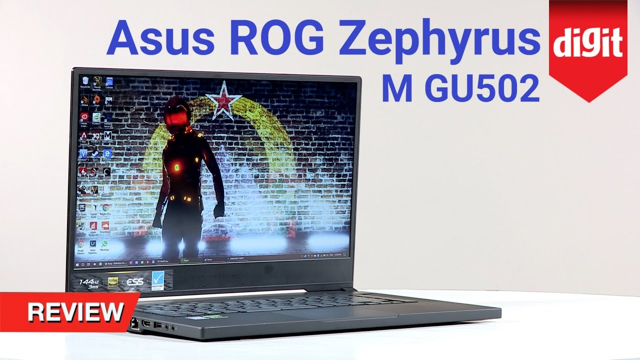 Asus ROG Zephyrus M GU502 Gaming Laptop Review