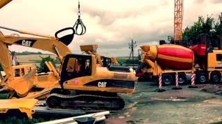 BRUDER RC TRUCKS heavy equipment CARSON Wire EXCAVATOR CRANE