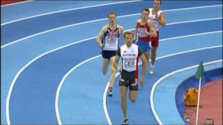 Mens 4 x 400m relay - 2007 European Indoor Championships [HQ]