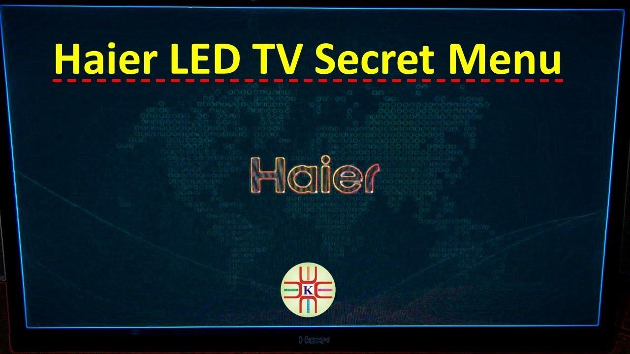Haier LED TV Service Menu/Secret Menu and Factory Setting  Detail in  Urdu/Hindi