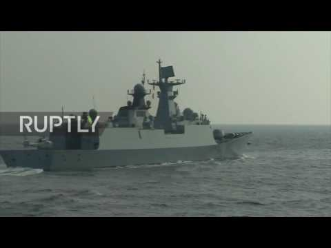 China: Russia and China hold joint maritime drills in South China Sea