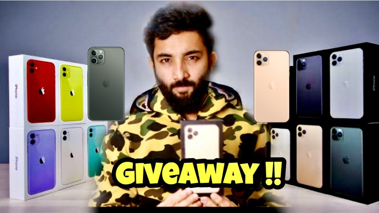 10 APPLE IPHONE 11 PRO MAX GIVEAWAY !!