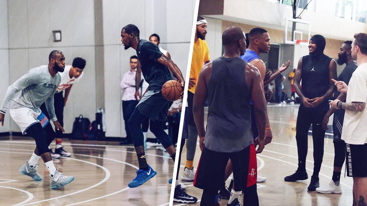 James Harden, LeBron James, Carmelo Anthony among greats ...