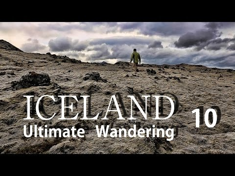 ICELAND アイスランド 究極放浪 10 火山群に進む