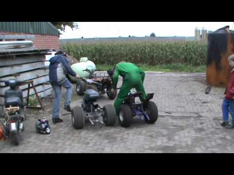 Scooter based trike
