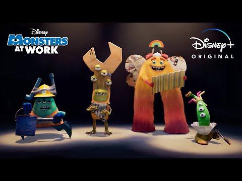 Sneak Peek   Monsters At Work   Disney+