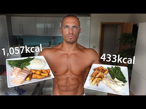 Fat Loss vs Bulking Meal Comparisons (Full Meal Prep Walkthrough)