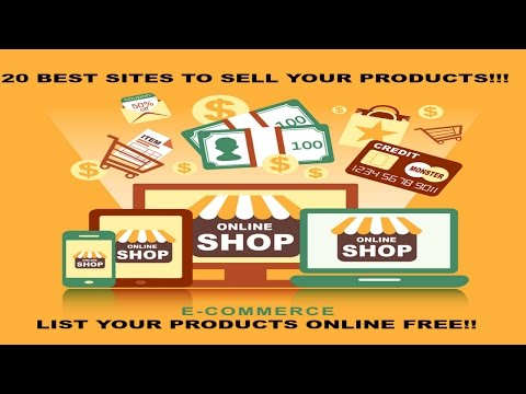 20 Best Websites To Sell Your Products! The Best Websites To Sell Online !