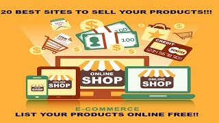 20 best websites to sell your products the best websites to sell online 2016
