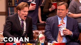 Conan's Super Bowl Party Flashback - CONAN on TBS