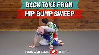 """BJJ Back Take From Hip Bump Sweep Using """"Switch"""" Movement – Jason Scully"""