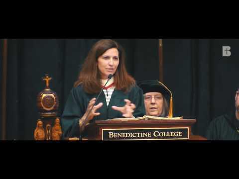 Clare Vanderpool Commencement Address 2017 - Benedictine College