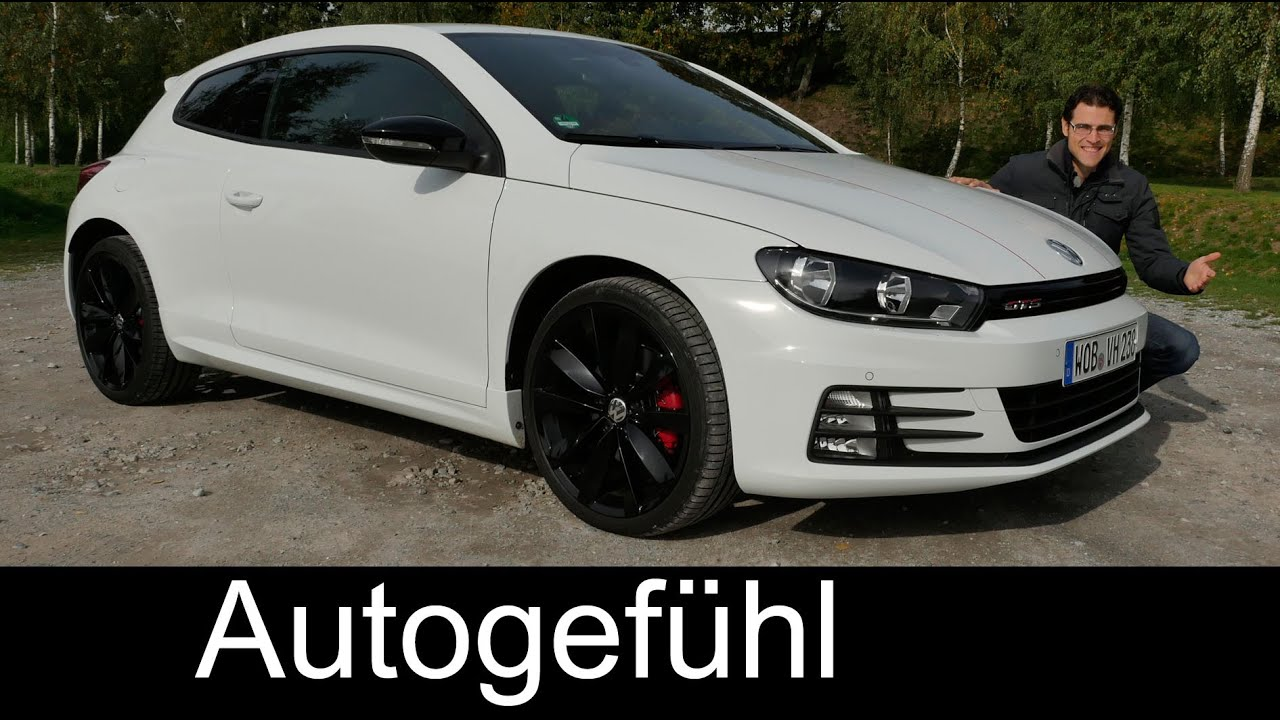 VW Volkswagen Scirocco GTS (the 'GTI') FULL REVIEW test driven 2016 ...