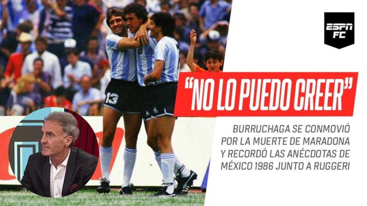 "Jorge #Burruchaga se emocionó recordando a Diego #Maradona y pidió ""que no sigan lucrando con él"" - download from YouTube for free"