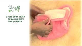 Flat Birth to potty Nappy