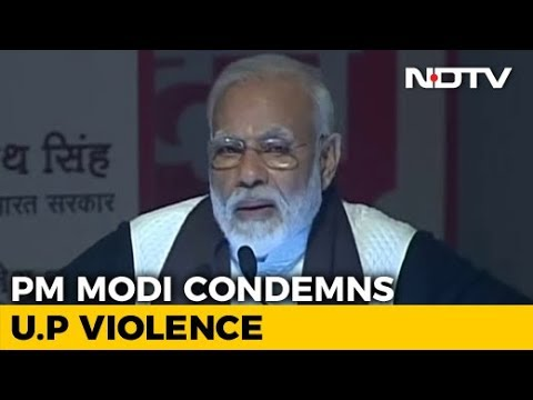 'Citizens' Responsibility To Take Care Of Public Property': PM On Protests