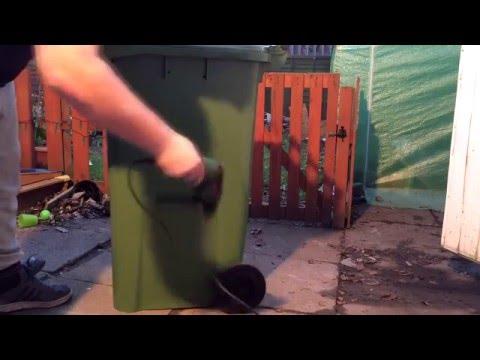 D I Y | Wheely Bin Compost Bin |