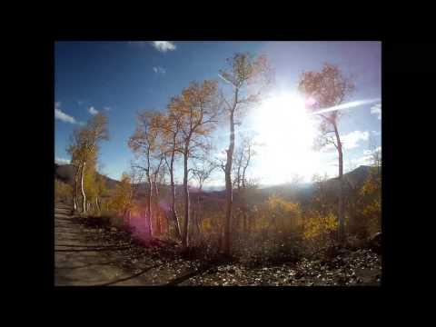 The road to Jarbidge , Nevada (From Elko)
