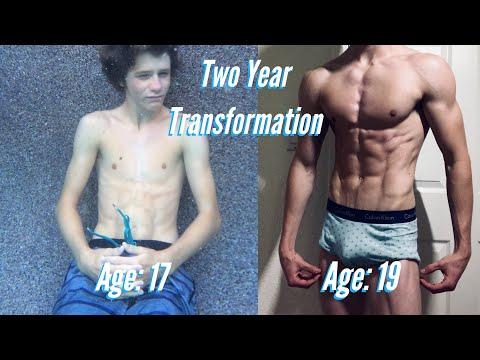 Dilan Platts 2 Year Natural Body Transformation 17-19
