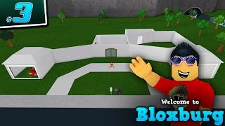 STARTING TO BUILD in Welcome to BloxBurg! - Ep. 3 | Roblox