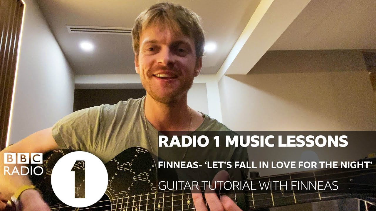 Finneas - Let's Fall In Love For The Night (Guitar Tutorial with Finneas)