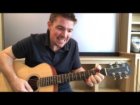 Here Tonight | Brett Young | Beginner Guitar Lesson