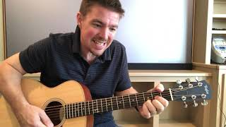 Here Tonight | Brett Young | Beginner Guitar Lesson Mp3