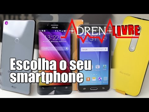 Escolha o seu Smartphone com o AdrenaLivre!