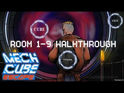 Mech Cube: Escape Room 1-9 Walkthrough + Complete Ending