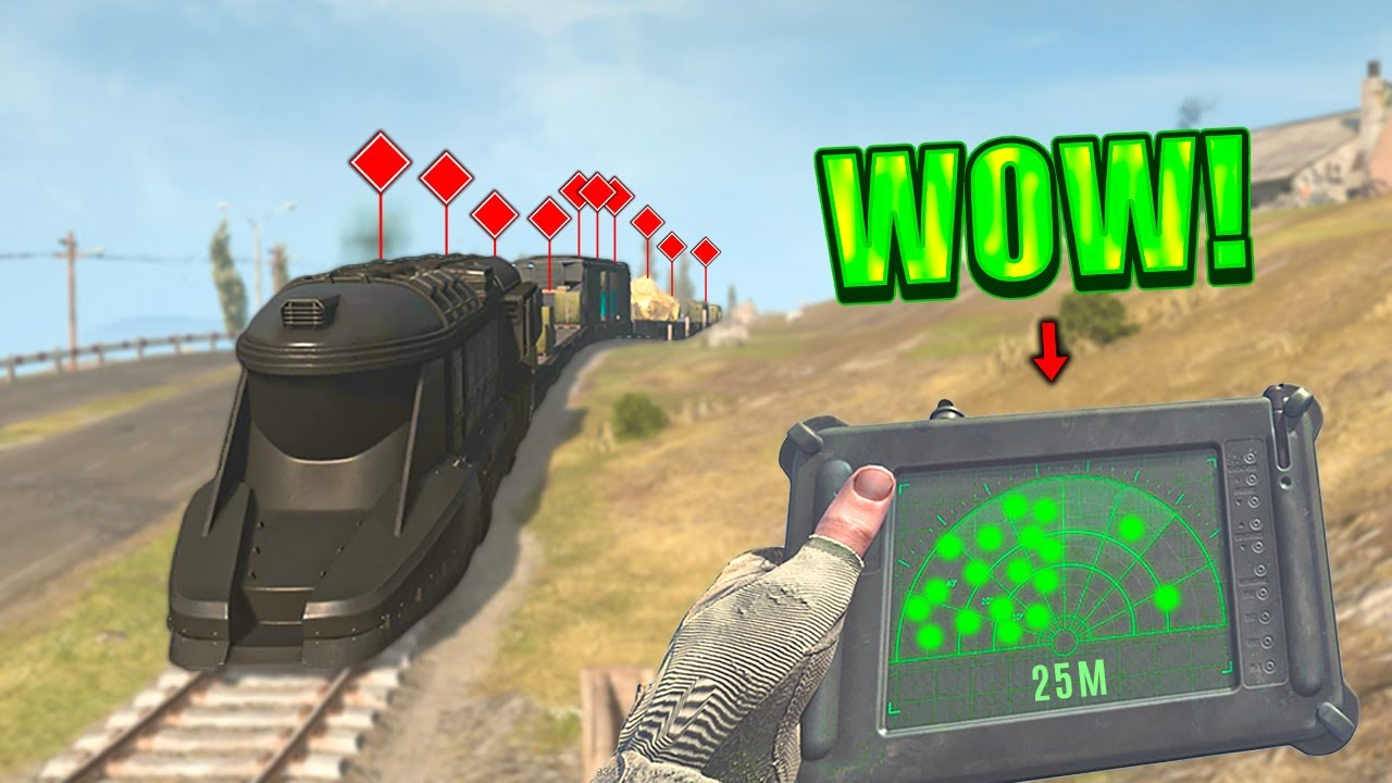 WTF! ON THE TRAIN?! (Warzone Highlights and Funny Moments #307)