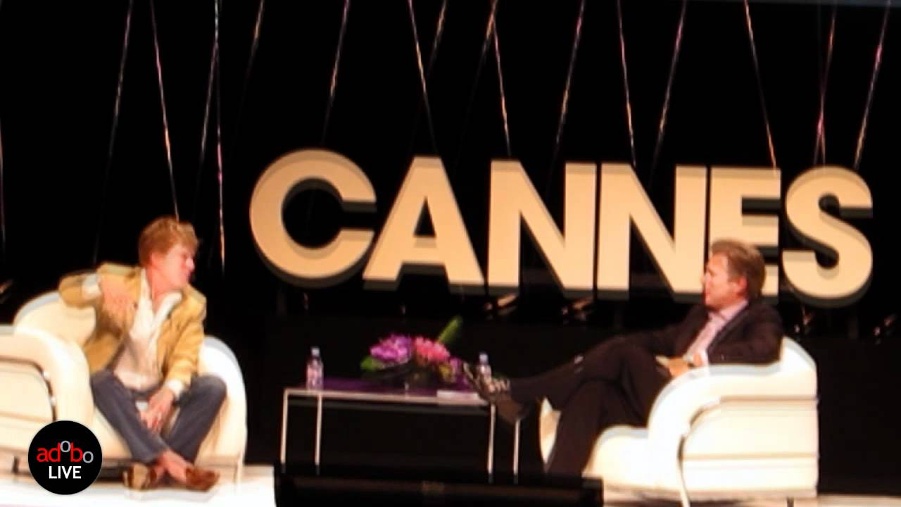 adoboLIVE! Yahoo! seminar @ Cannes Lions 2011 Robert Redford and Ross Levinsohn