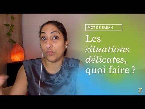 Quoi faire avec les situations délicates : en parler ou les éviter | Zarah Issany