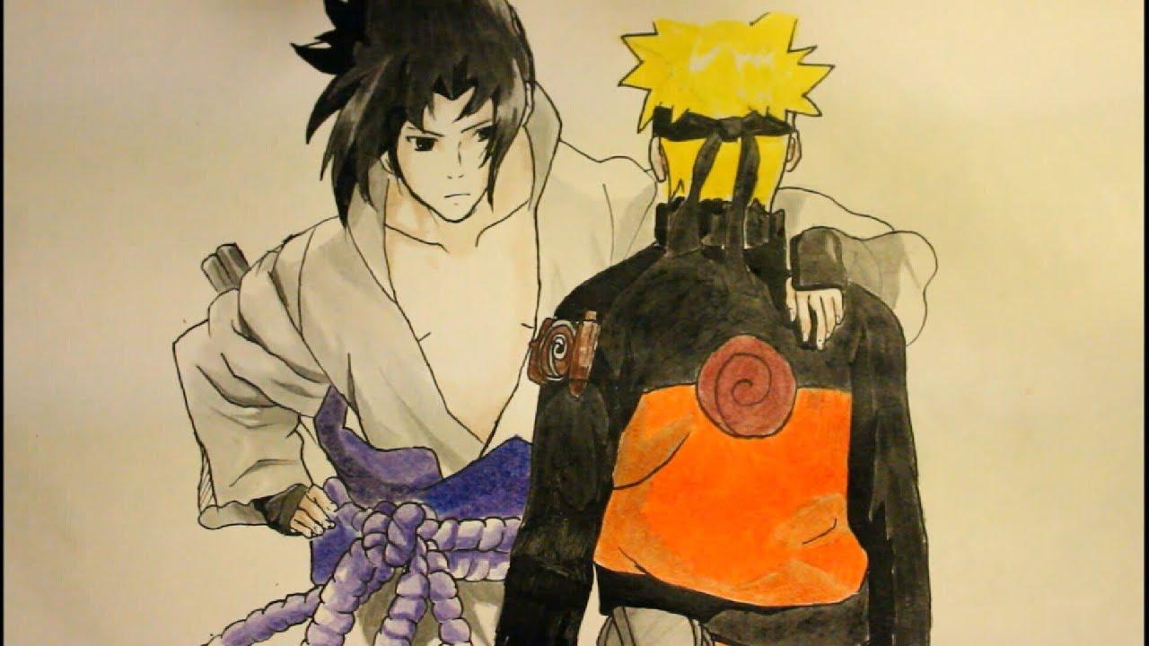Easy Drawings Of Sasuke How To Draw Sasuke Uchiha From