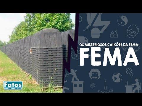 Veja o video – Os misteriosos caixões da FEMA – E se for Verdade? Ep. 09