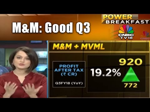 M&M: Good Q3 | ONGC : Profit Misses Estimate | Power Breakfast | CNBC TV18