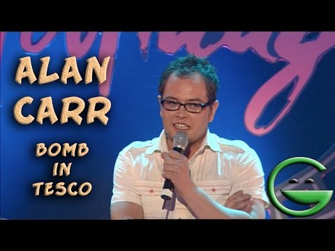 Alan Carr bomb in Tesco | Grintage Ireland