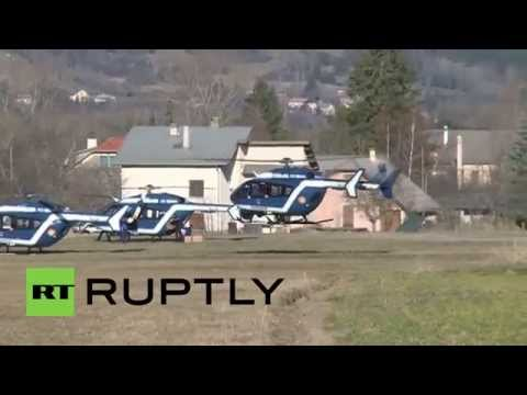 France: Rescue operation resumes at Airbus A320 crash site