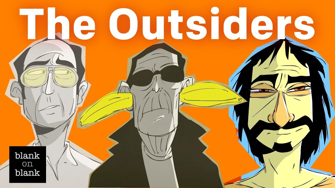 The Outsiders: Lou Reed, Hunter S  Thompson, and Frank Zappa Reveal