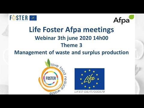 Les rencontres Life Foster - 3 juin 2020