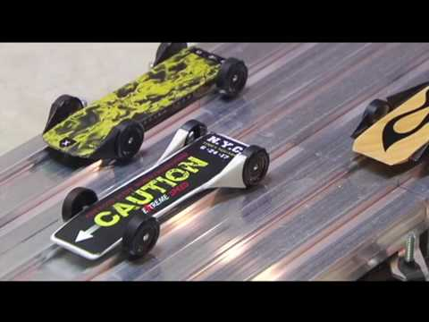 World champions of pinewood derby racing