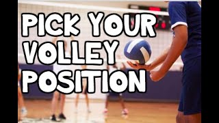 VOLLEYBALL POSITIONS EXPLAINED! ⎮How to Choose Your Volleyball Position