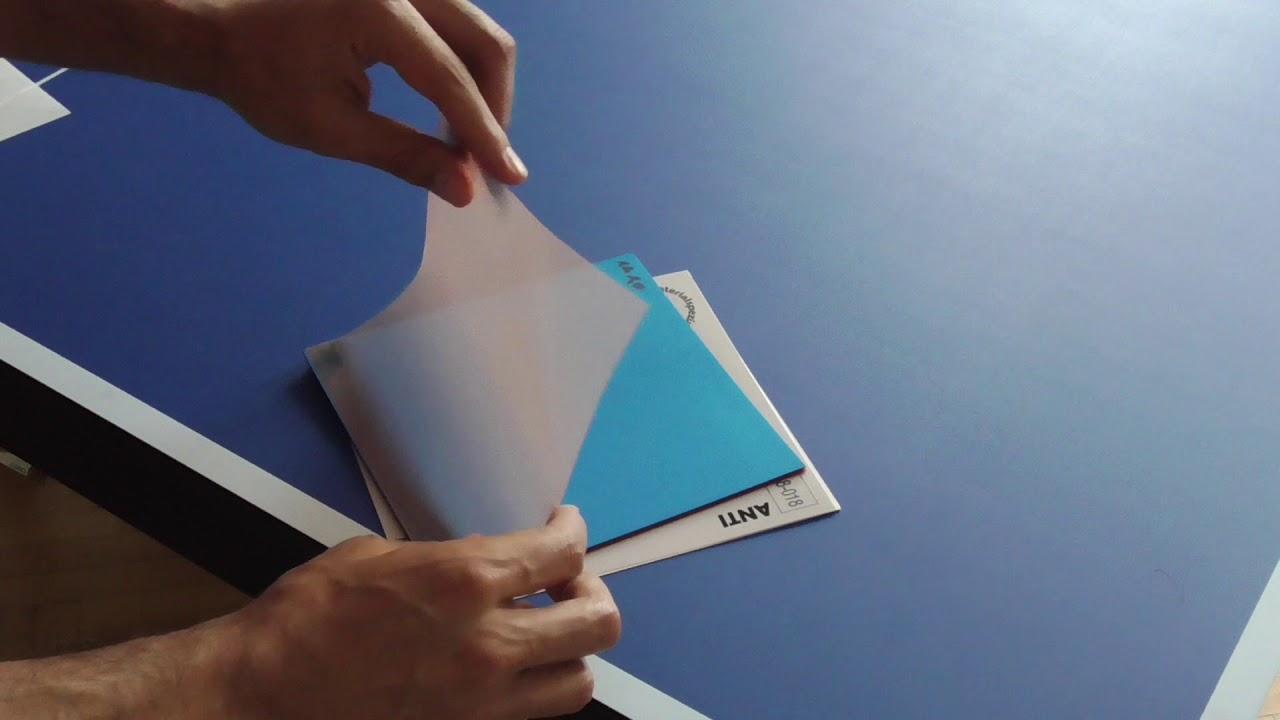 Black 1.3mm Diabolic Anti-Spin Rubber Der Materialspezialist