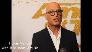 Howie Mandel at America's Got Talent AGT13 Live Show Week 1 Interview