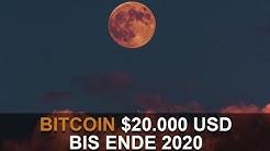 BITCOIN $20.000 BIS ENDE 2018