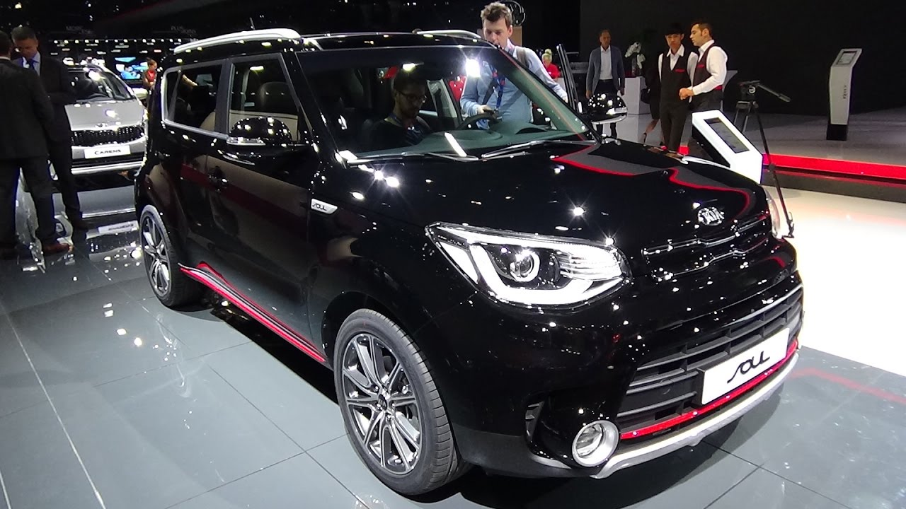2017 KIA Soul   Exterior And Interior   Paris Auto Show 2016   YouTube