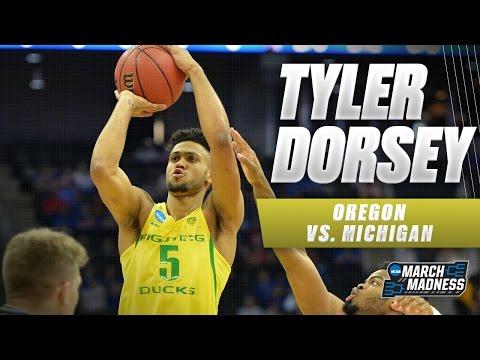 Oregon vs. Michigan: Tyler Dorsey scores 20 points for the Ducks
