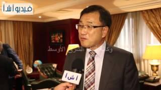بالفيديو | مسئول ثقافي كوري يقارن بين الكشري المصري والطعام الكوري.