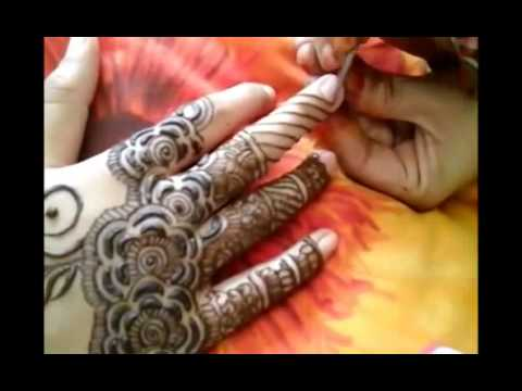Mehndi Hands With Mobile : Copy of sms mobile by best mehandi videos youtube